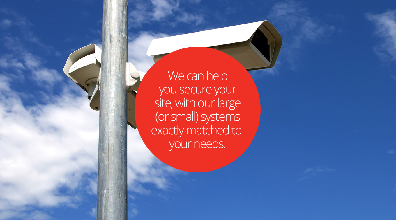Jeanneret Electrical Technologies can help you secure your site with large (or small) scale security solutions here in Tasmania.